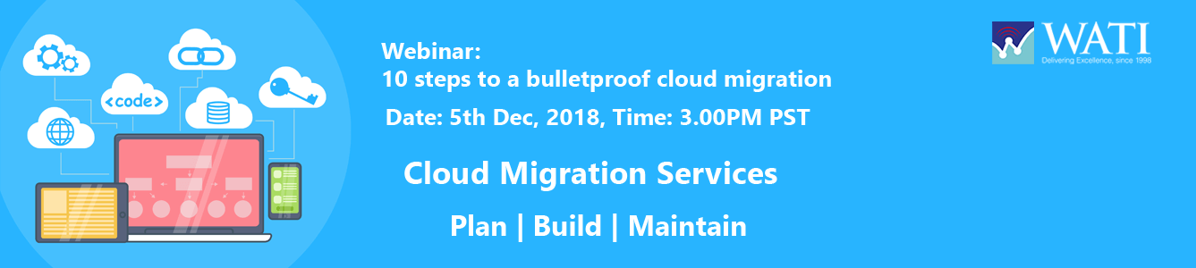 Webinar Banner - Cloud Migration Services - WATI