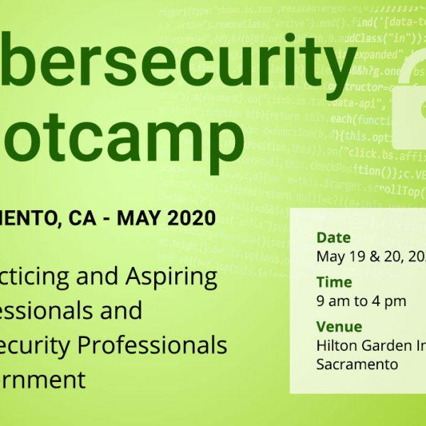 Cybersecurity Bootcamp in Sacramento, CA