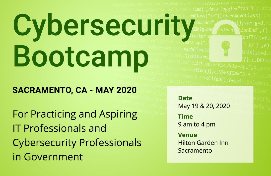 Cybersecurity Bootcamp in Sacramento, CA